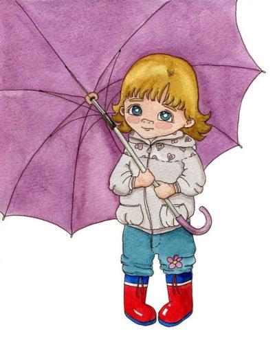Старший зонтик