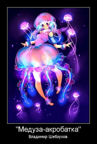 Медуза-акробатка