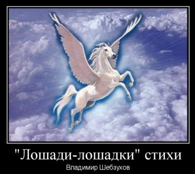Владимир Шебзухов «Лошади-лошадки» стихи
