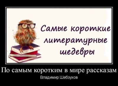 Владимир Шебзухов «По самым коротким в мире рассказам»